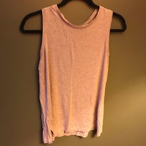 Pink Muscle Tank